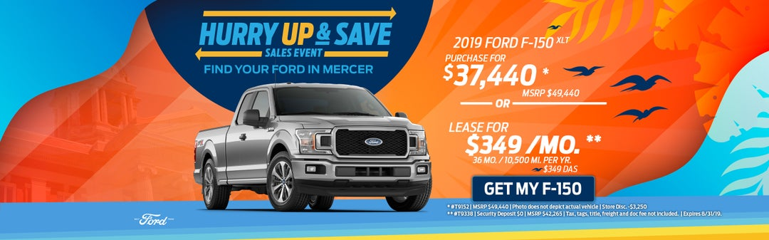 Ford New Car Specials In Mercer Pa Bill Mccandless Ford Price