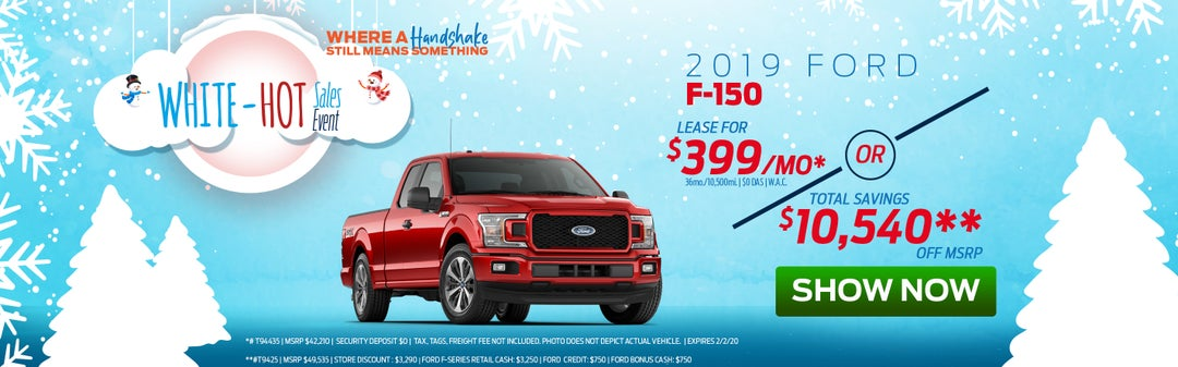 My Ford Credit >> Monthly Specials Bill Mccandless Ford My Local Ford Dealer